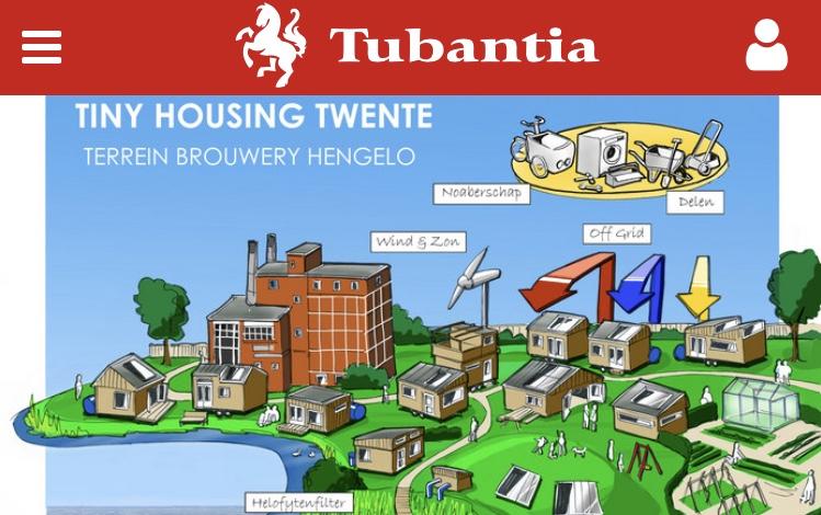 [nieuws] Tiny Housing Twente in de krant