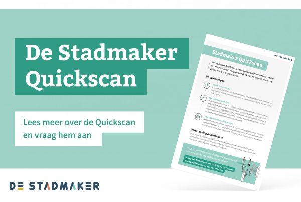 Stadmaker quickscan